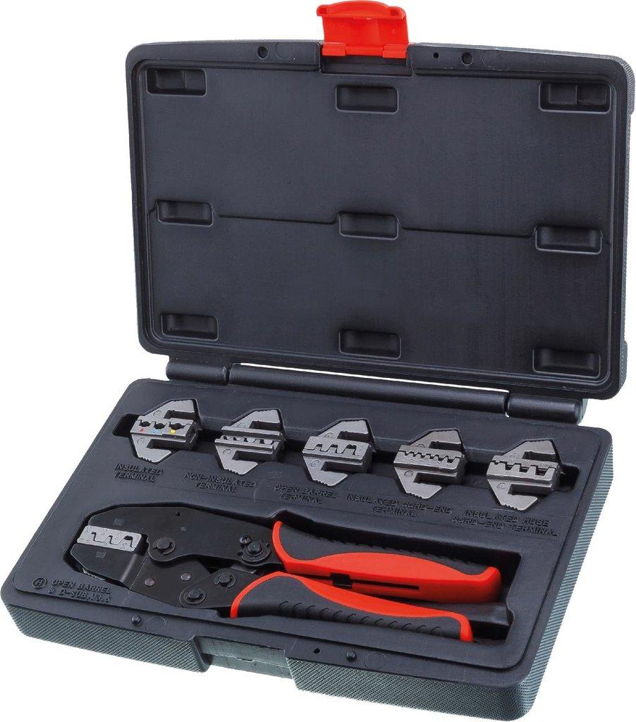 Инструмент для ремонта и диагностики электрики автомобиля: KA-1278 клещи для обжимки клемм в наборе в Арсенал, магазин, ИП Соколов В.Л.