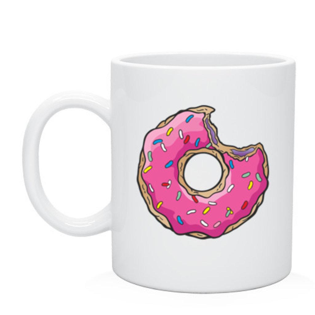 """Выбери готовый дизайн для любой кружки-заготовки: Кружка """"Пончик Гомера"""" в NeoPlastic"""