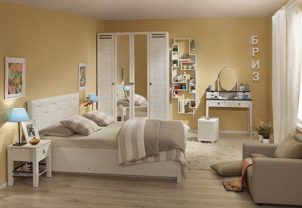 Модульная мебель в спальню Бриз: Модульная мебель в спальню Бриз в Стильная мебель