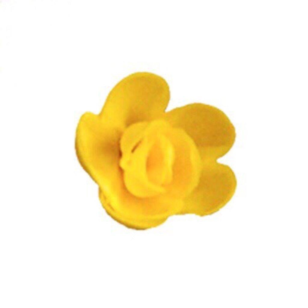 Вафельные украшения: Вафельное украшение Роза малая микс в ТортExpress