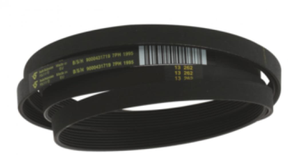 Ремни привода барабана: Ремень для сушильной машины Bosch (Бош) 1992H7, 650499, 00650499 в АНС ПРОЕКТ, ООО, Сервисный центр
