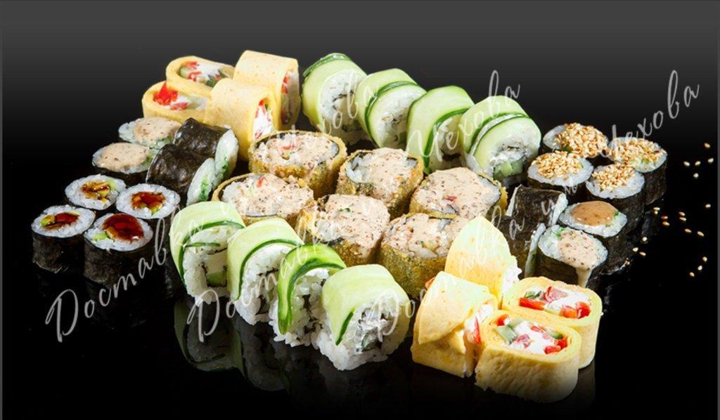 Наборы роллов: Вегетарианский набор роллов, 1050гр. в Доставка им. Чехова