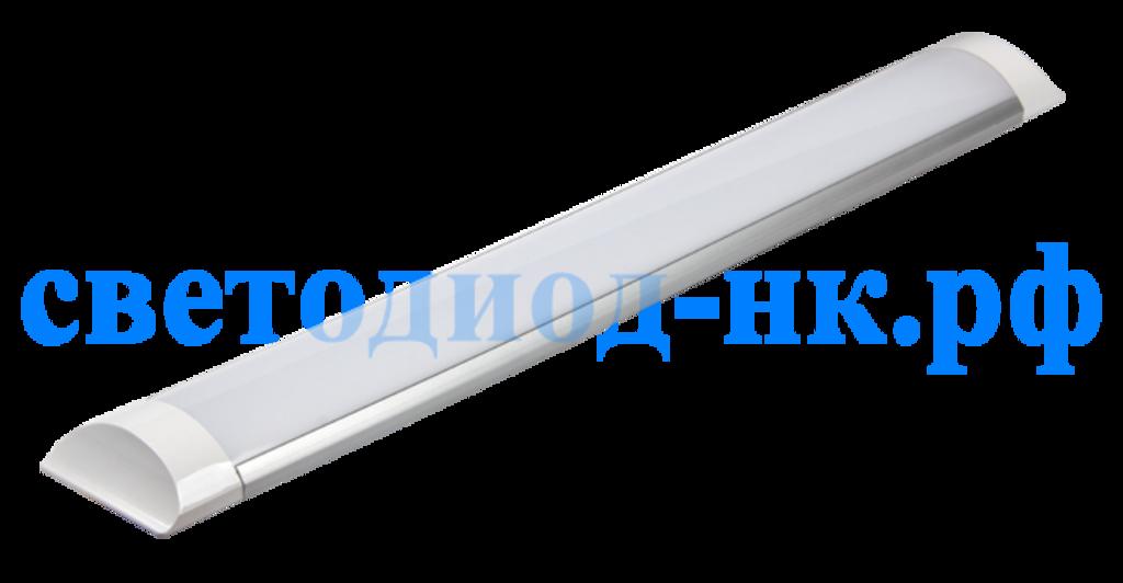 Линейные светильники: Светодиодный светильник Ecola (ЛПО 1x36) 36w (2880Lm) 2700K 1200x75x25 IP20 2K LSHW36ELC в СВЕТОВОД