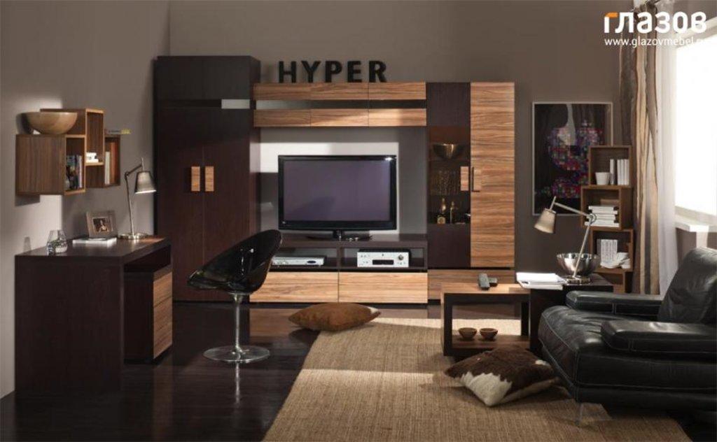 Модульная мебель в гостиную HYPER: Модульная мебель в гостиную HYPER в Стильная мебель