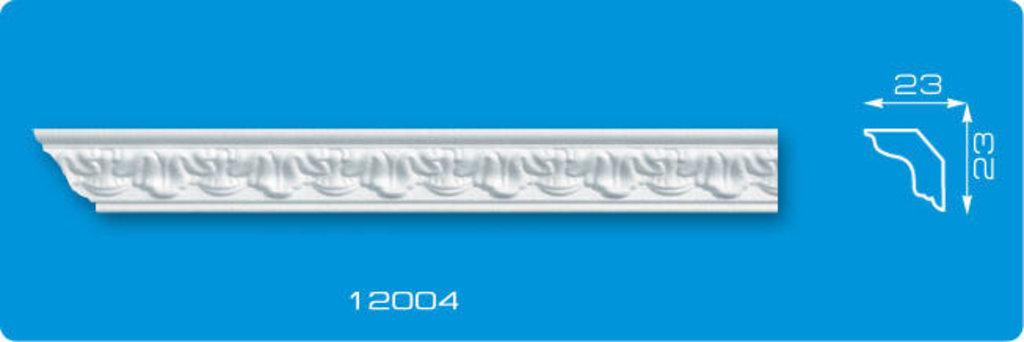 Плинтуса потолочные: Плинтус потолочный ФОРМАТ 12004 инжекционный длина 1,3м, узкий в Мир Потолков
