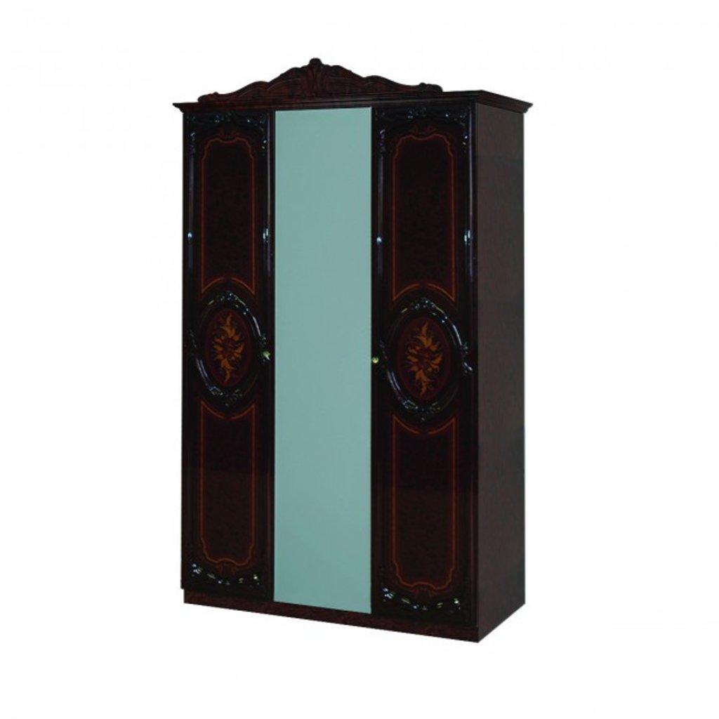 Шкафы для спальни: Шкаф 3-дверный Роза в Стильная мебель