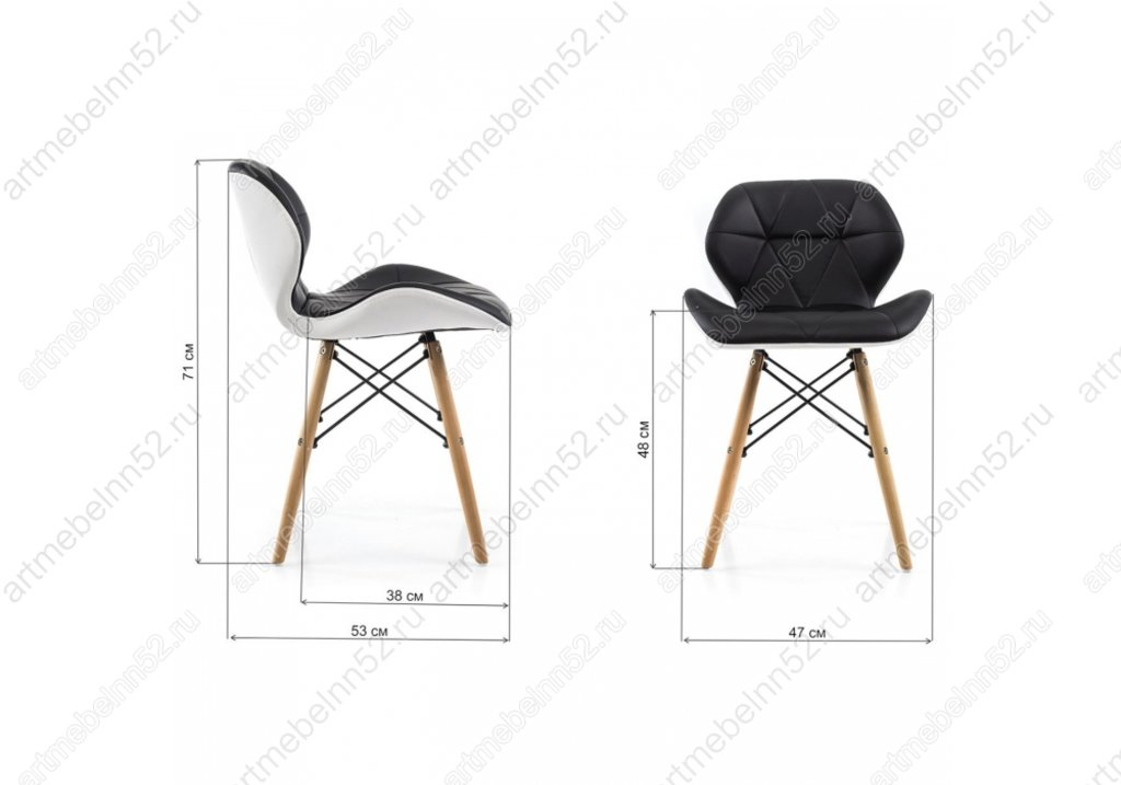 Стулья, кресла деревянный для кафе, бара, ресторана.: Стул 1667 в АРТ-МЕБЕЛЬ НН