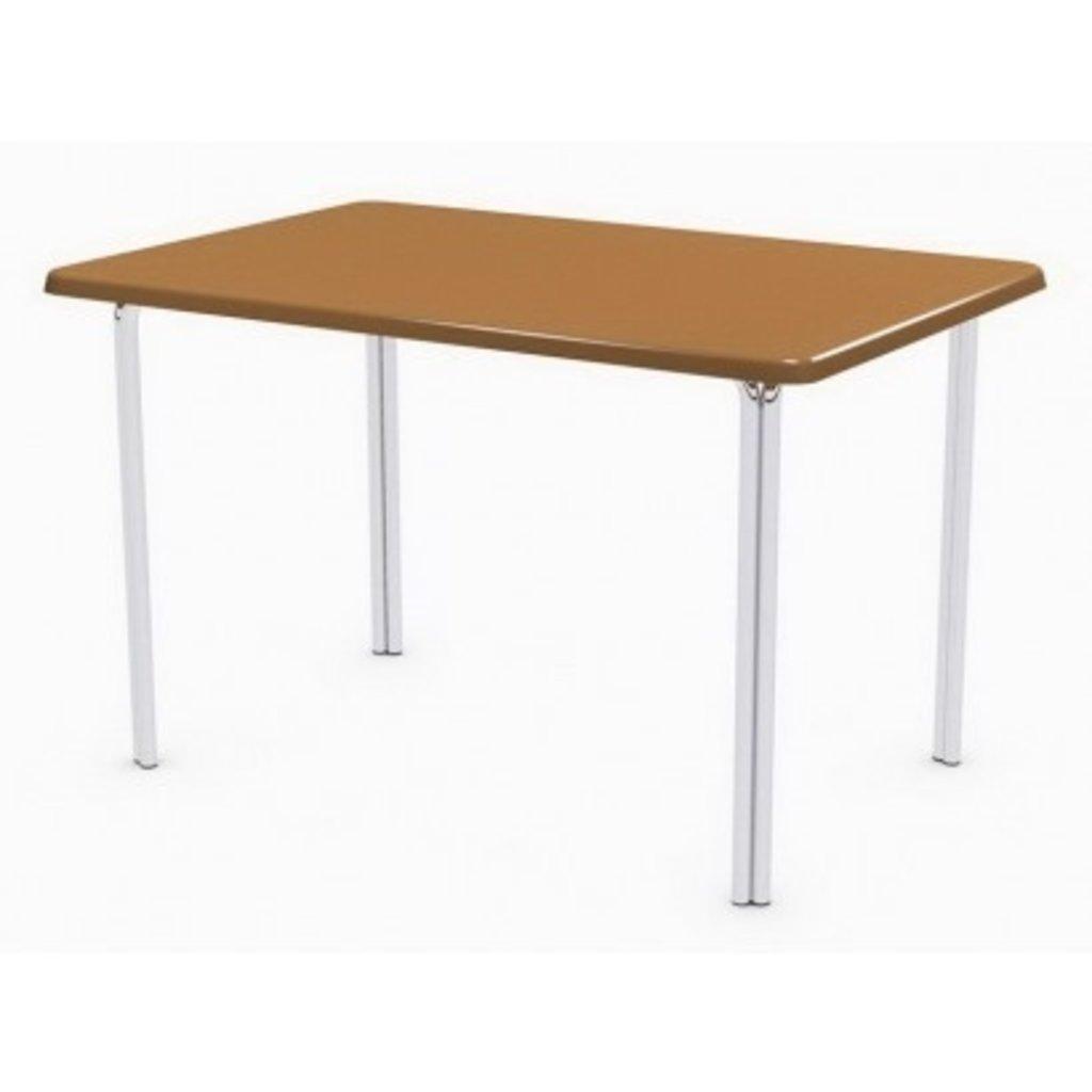 Столы для ресторана, бара, кафе, столовых.: Стол прямоугольник 120х80, подстолья № 4 прямоугольник серая в АРТ-МЕБЕЛЬ НН