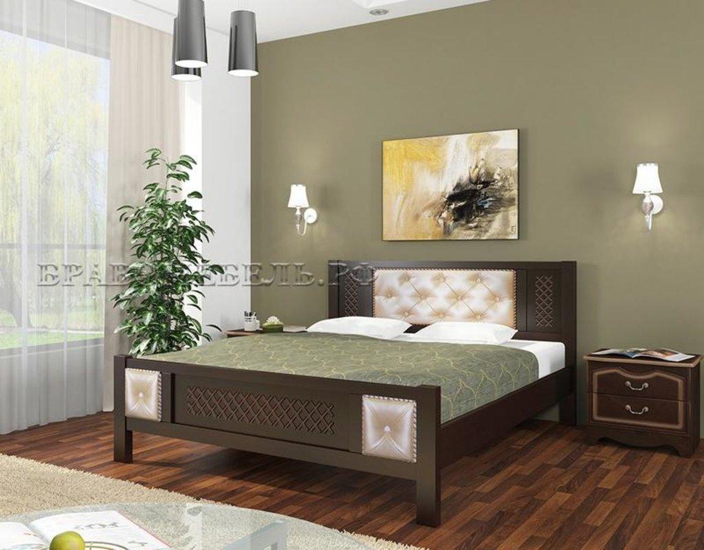 Кровати: Кровать Мелания (массив) в Уютный дом