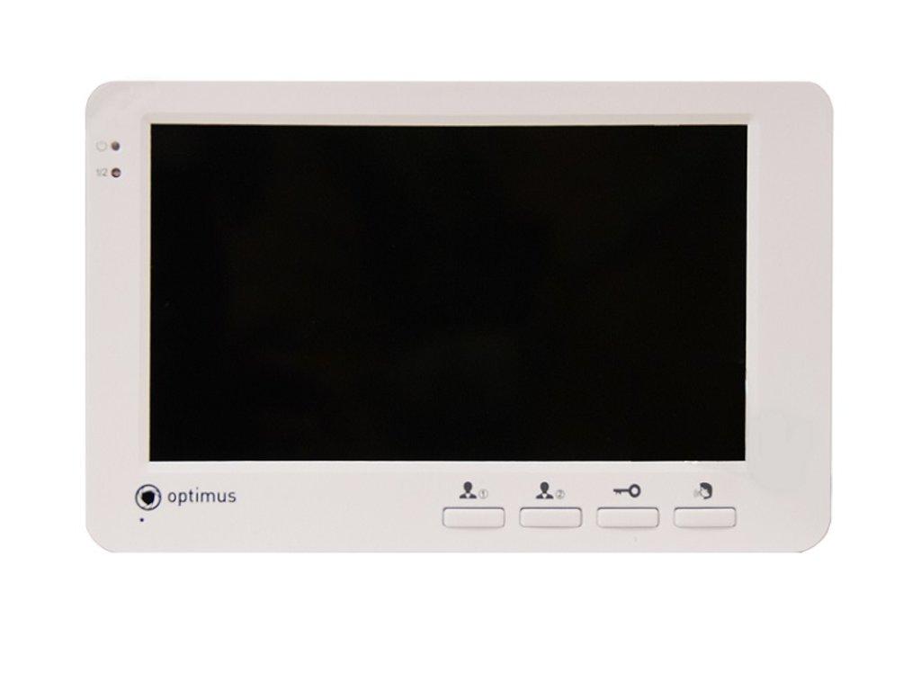 Мониторы: Цветной видеодомофон Optimus VM-E7 в Микровидео