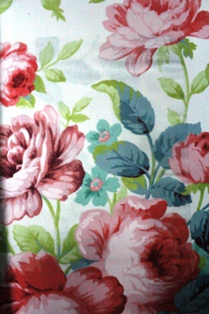 Портьерные ткани: Summer rose в Салон штор, Виссон