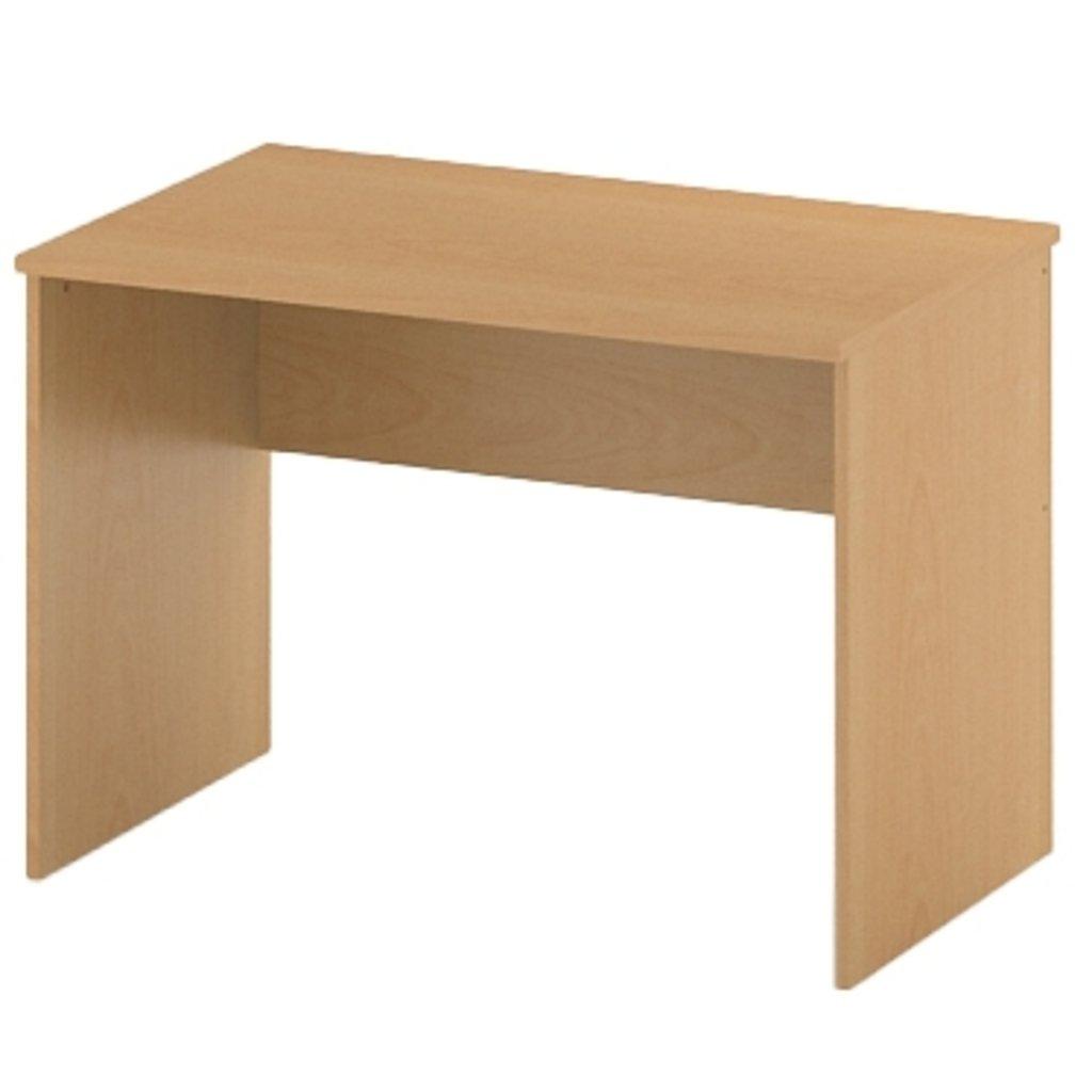 Офисная мебель столы, тумбы Р-16: Стол рабочий (16) 1000*600*750 в АРТ-МЕБЕЛЬ НН