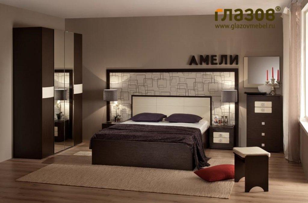 Модульная мебель в спальню Амели: Модульная мебель в спальню Амели в Стильная мебель