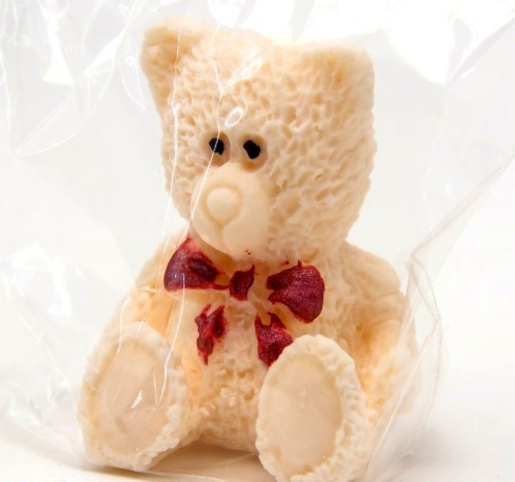 Сахарные украшения: Украшение сахарное Медвежонок светлый в ТортExpress