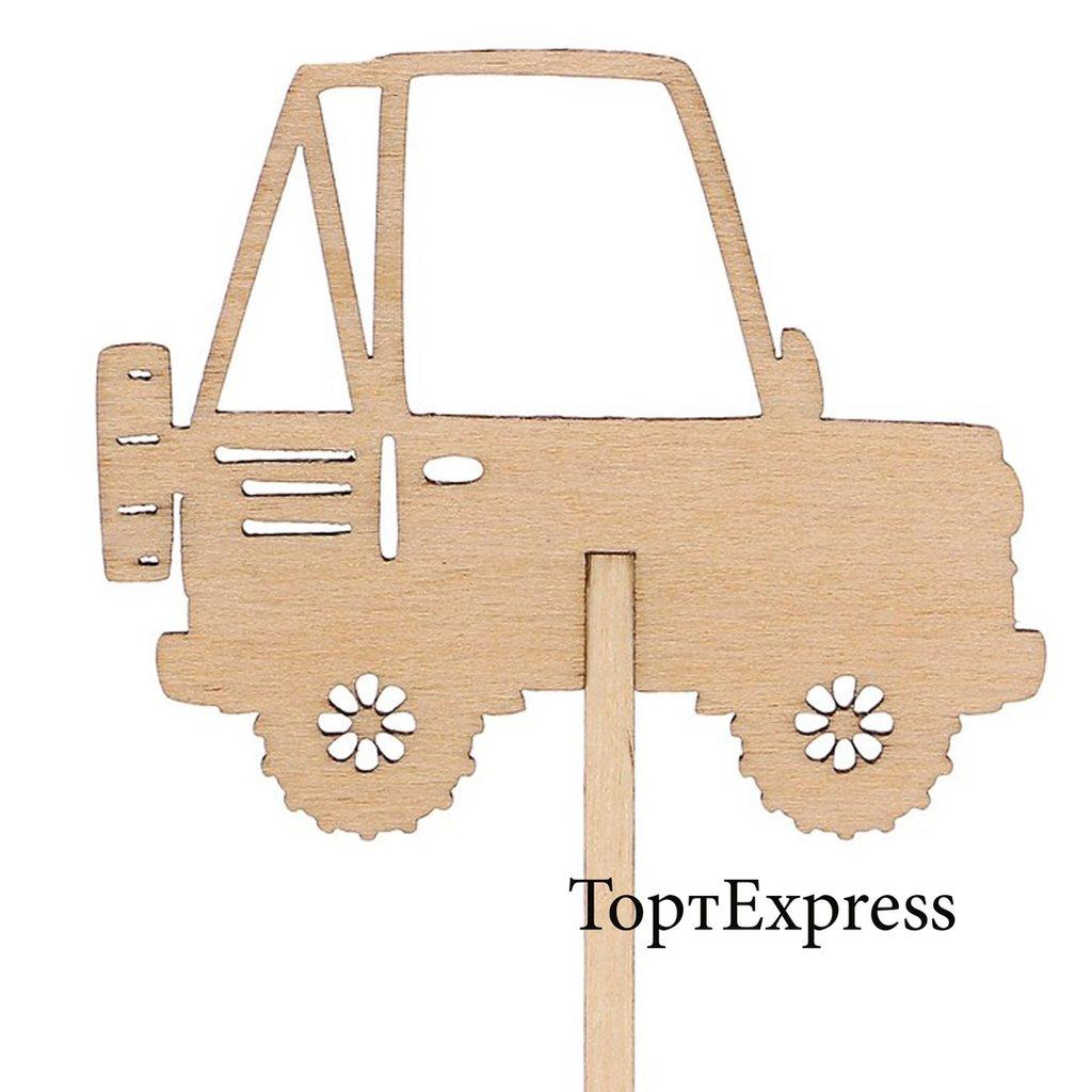 Детские: Топпер Машинка в ТортExpress