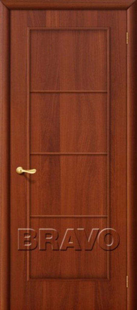 Двери ламинированные BRAVO: 10Г Л-11 (ИталОрех) в STEKLOMASTER