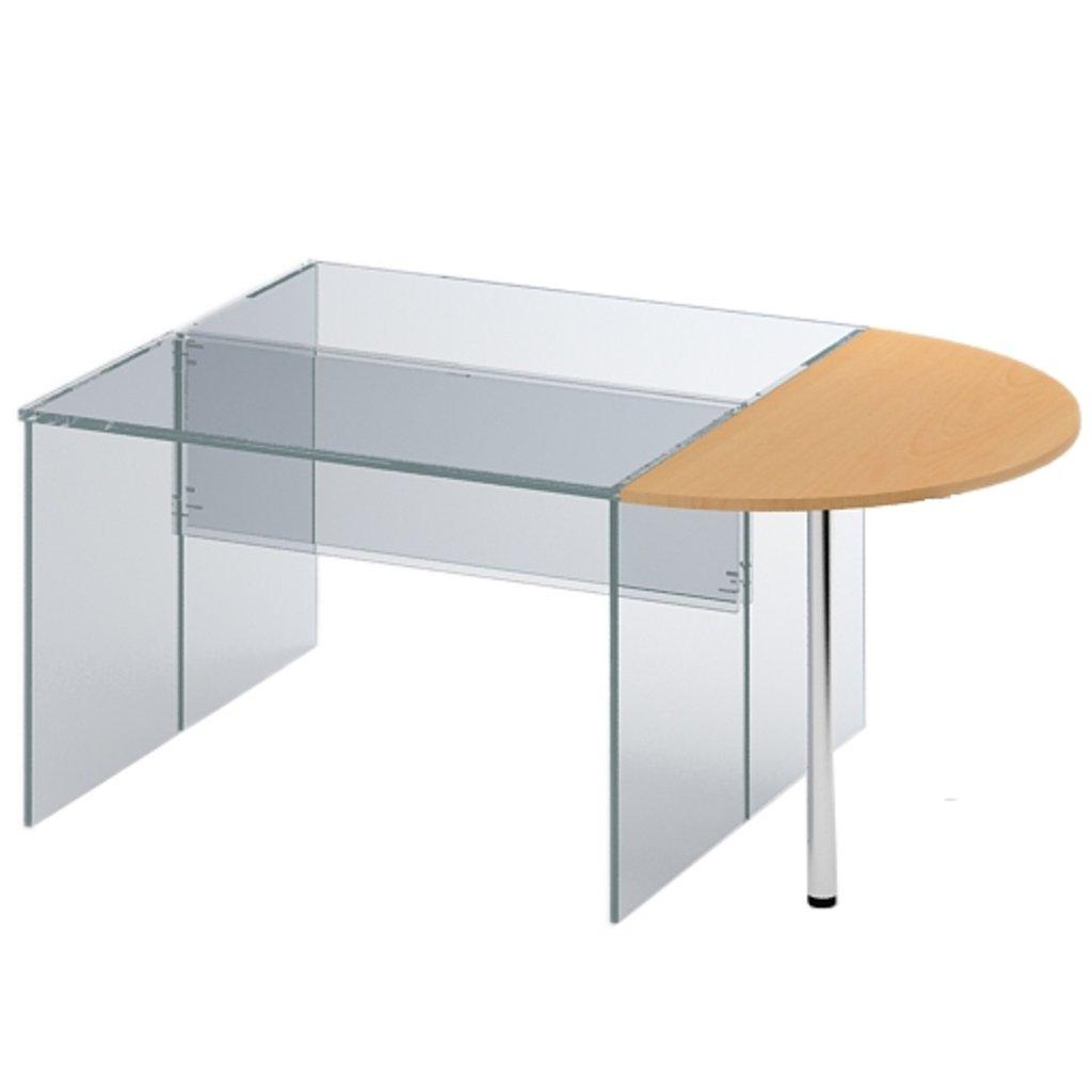 Офисная мебель столы, тумбы ПР-26: Элемент приставной (26) 1200*600*750 в АРТ-МЕБЕЛЬ НН