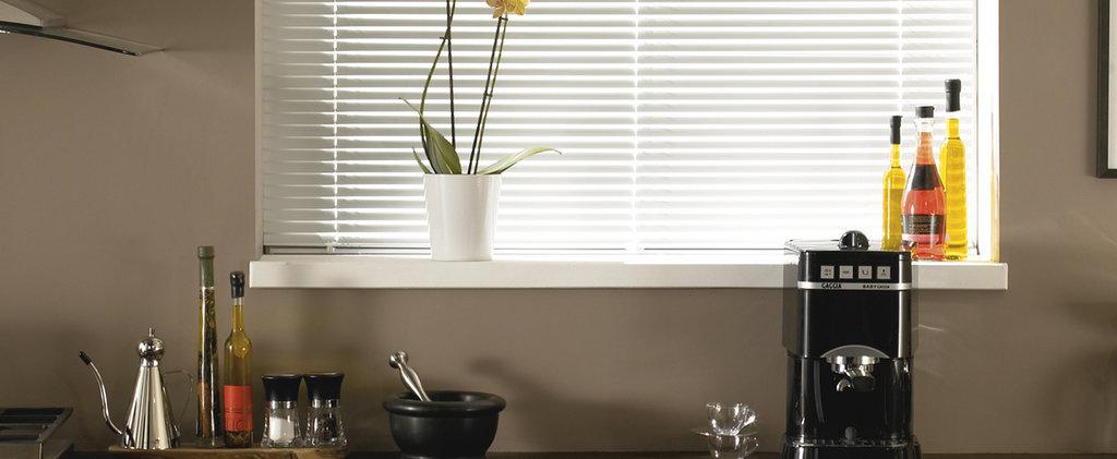 Горизонтальные жалюзи: Горизонтальные жалюзи VENUS для пластиковых окон в Салон штор, Виссон