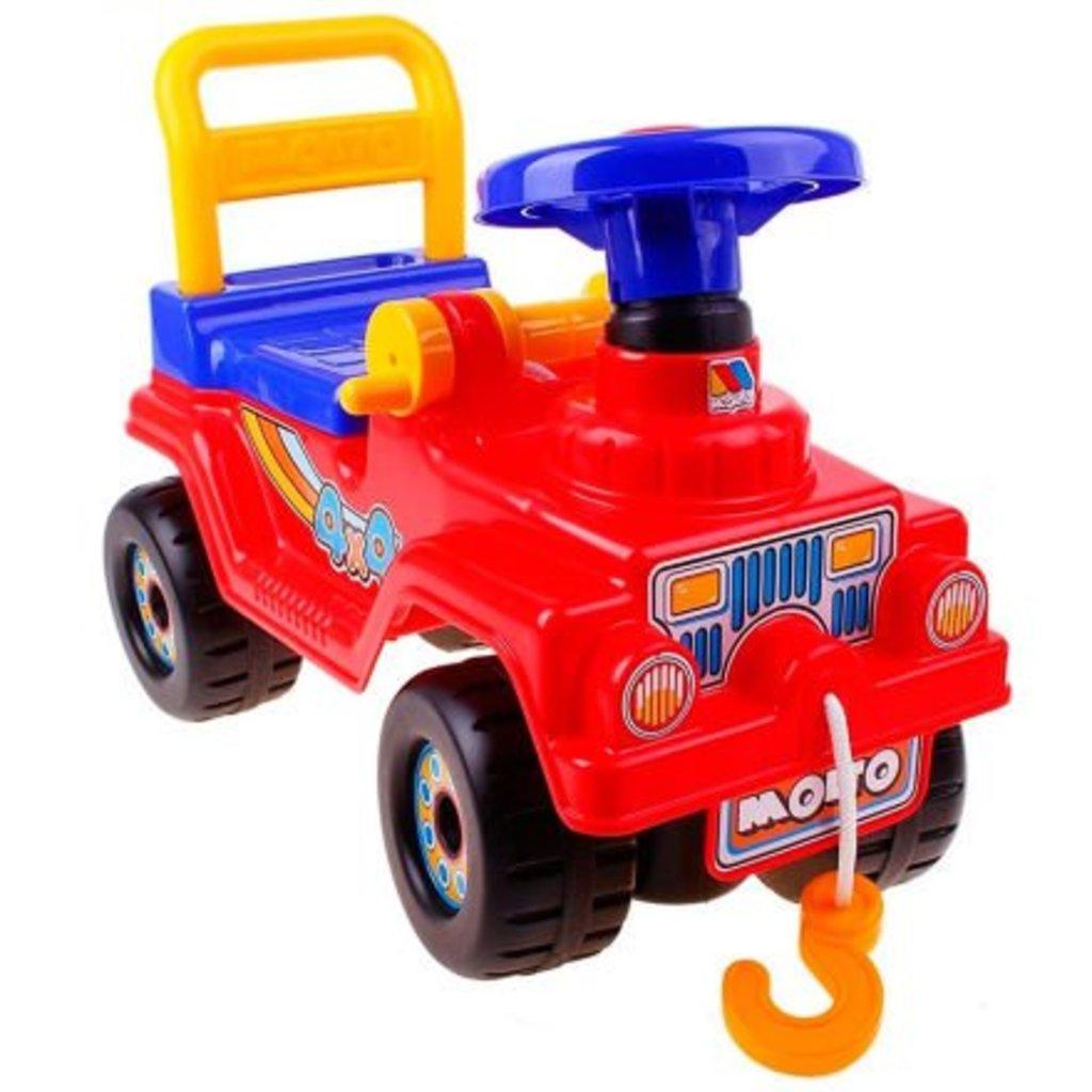 Транспорт для малышей: Каталка-машина Джип 4х4 №4 (красный) Полесье Molto в Игрушки Сити