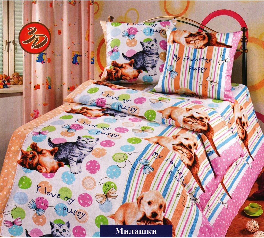 Детское постельное белье: КПБ Милашки в Дрёма