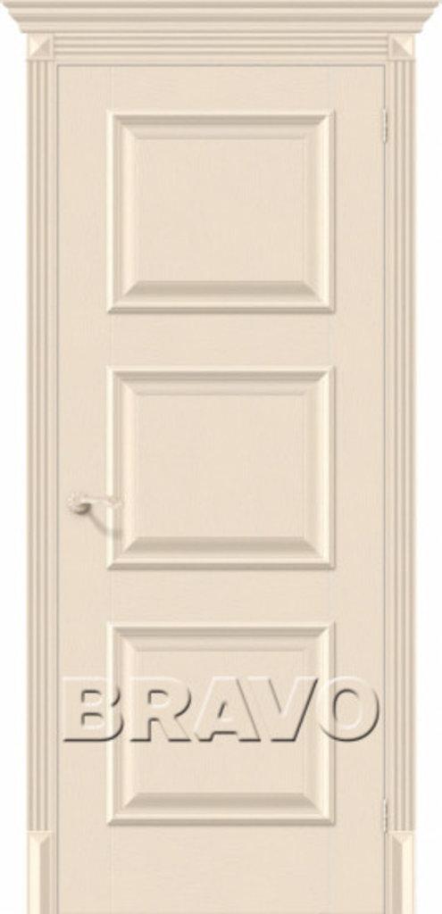 Двери экошпон BRAVO Classico: Классико-16 Ivory в STEKLOMASTER