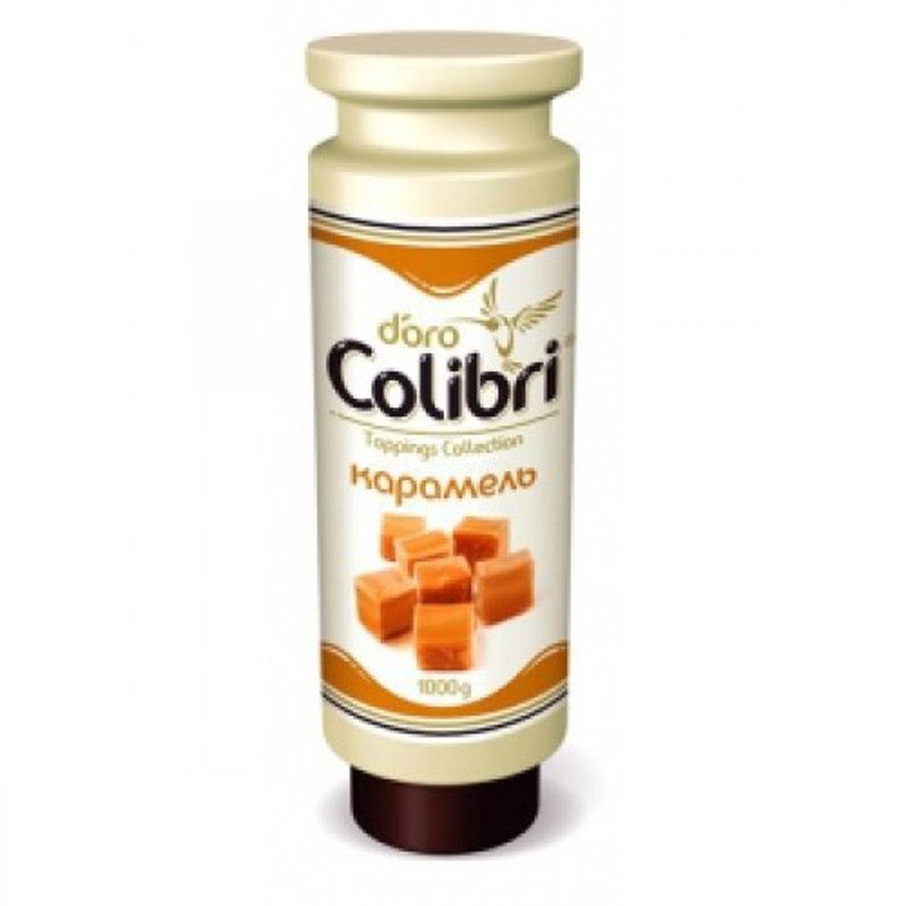 Ингредиенты: Топпинг КАРАМЕЛЬ Золотая Колибри 1кг в ТортExpress