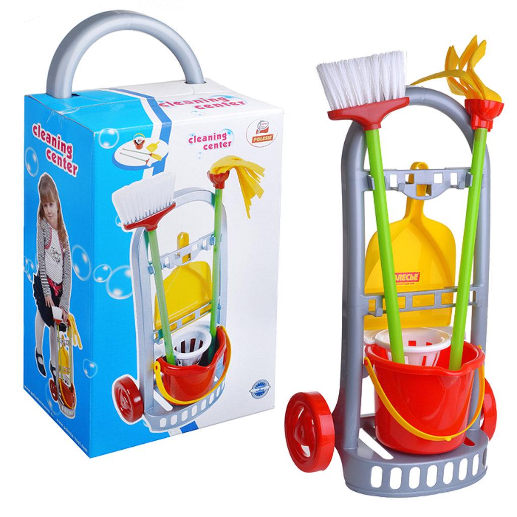 """Игрушки для девочек: Набор """"Чистюля-мини"""" в коробке ПОЛЕСЬЕ в Игрушки Сити"""