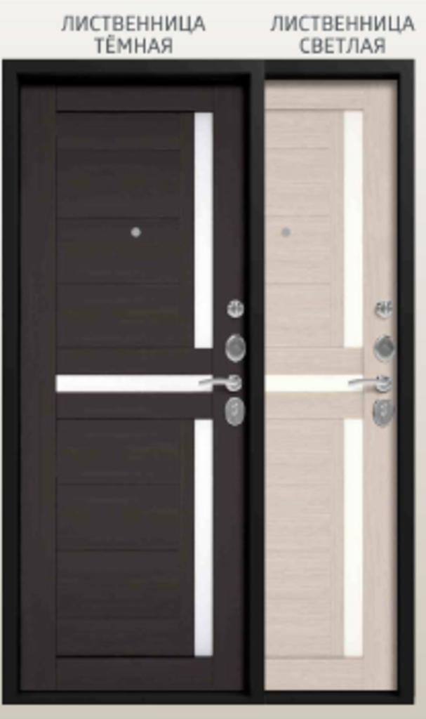 Двери Центурион: Центурион С-105 лиственница темная/лиственница светлая в Модуль Плюс