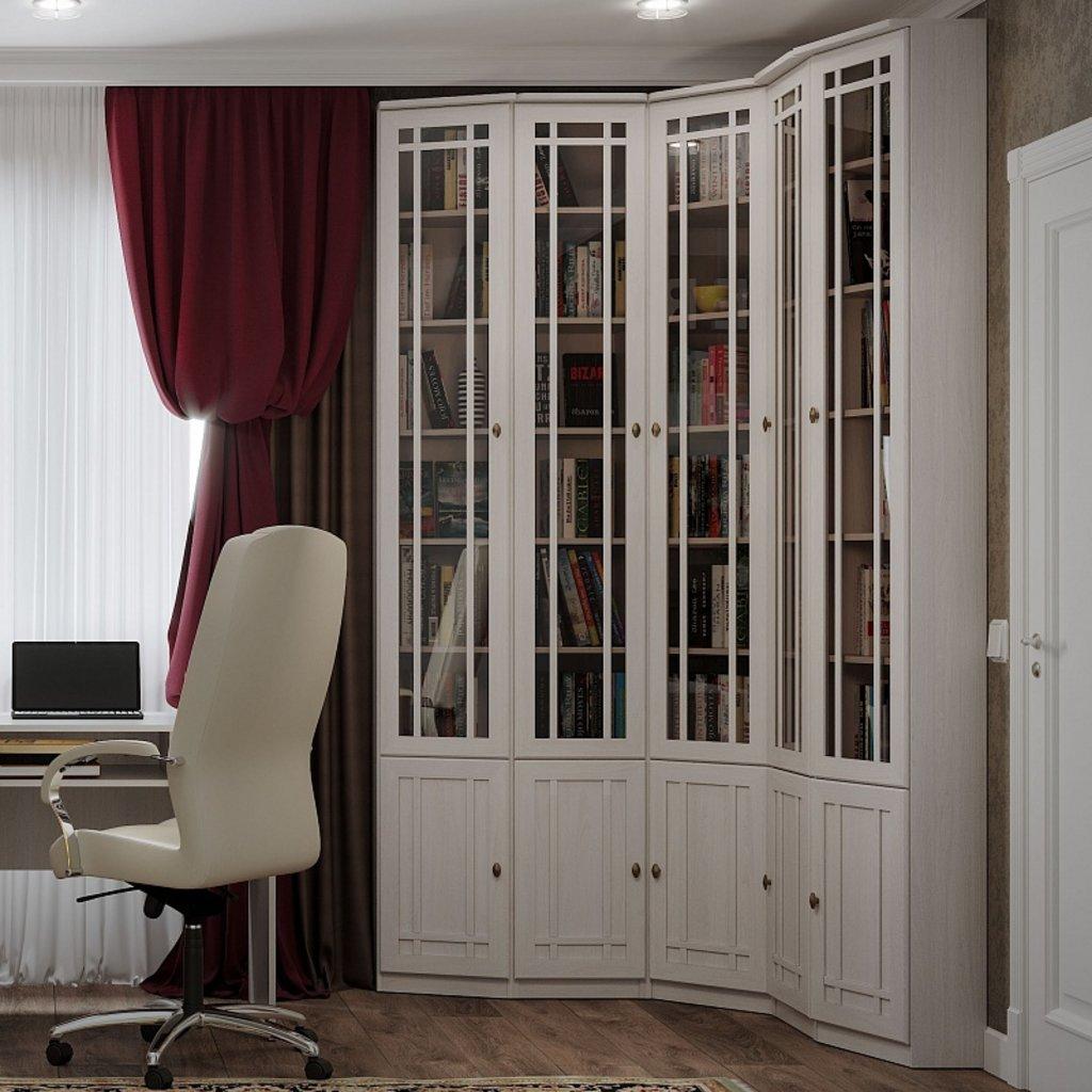 Книжные шкафы и полки: Шкаф для книг Sherlock 34 в Стильная мебель