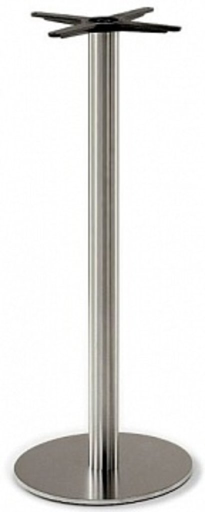 Подстолье, опоры: Подстолье барное 1252EM (нержавеющая сталь матовое) в АРТ-МЕБЕЛЬ НН