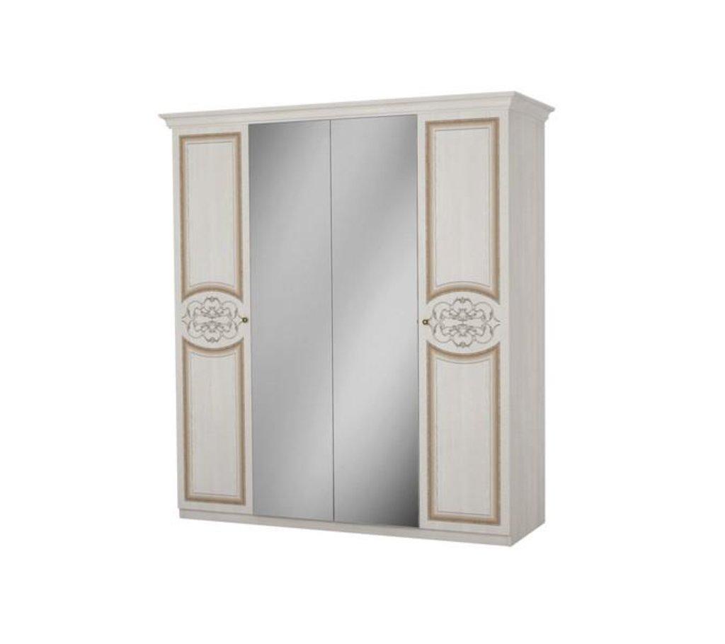 Шкафы для спальни: Шкаф 4-дверный Верона в Стильная мебель