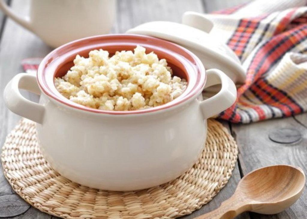 Вторник: Каша молочная пшеничная (250 г) в Смак-нк.рф