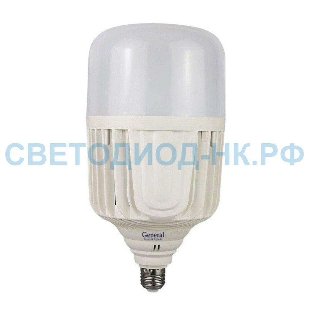 Мощные лампы Е40, Е27: Светодиодная лампа General HPL E27 150W 11000Lm 6500K 6K высокомощные матов.GLDEN-HPL-150ВТ-230-E27 в СВЕТОВОД