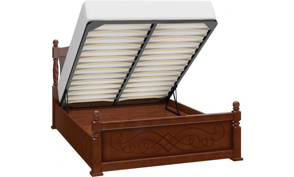 Кровати: Кровать Карина-14 (массив) с подъемным механизмом в Уютный дом