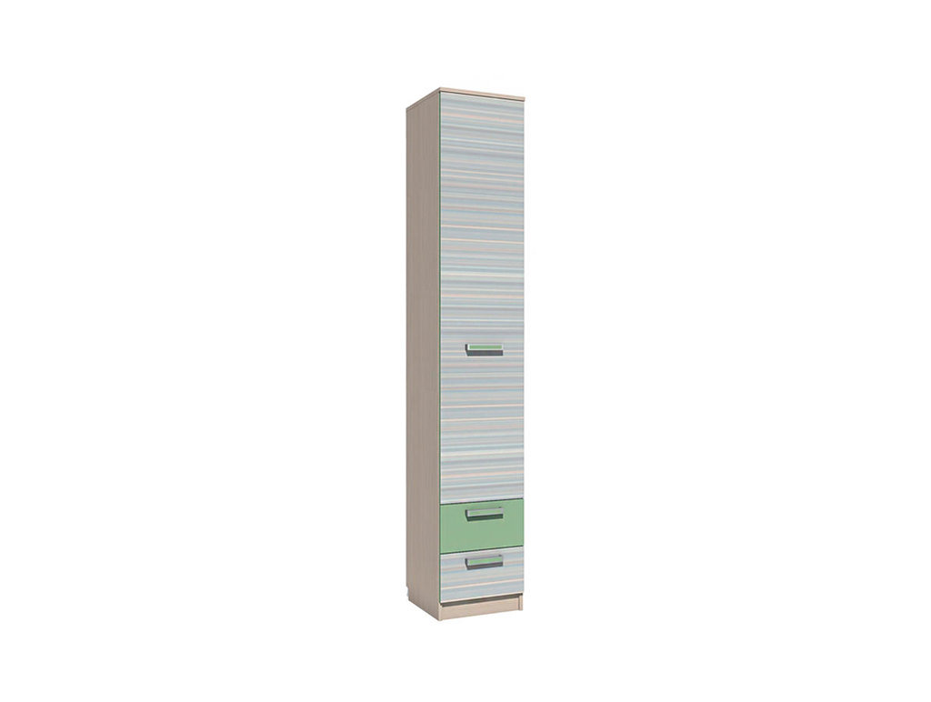 Детские шкафы и стеллажи: Шкаф для белья с ящиками НМ 013.01-02 ММ Рико-М в Стильная мебель