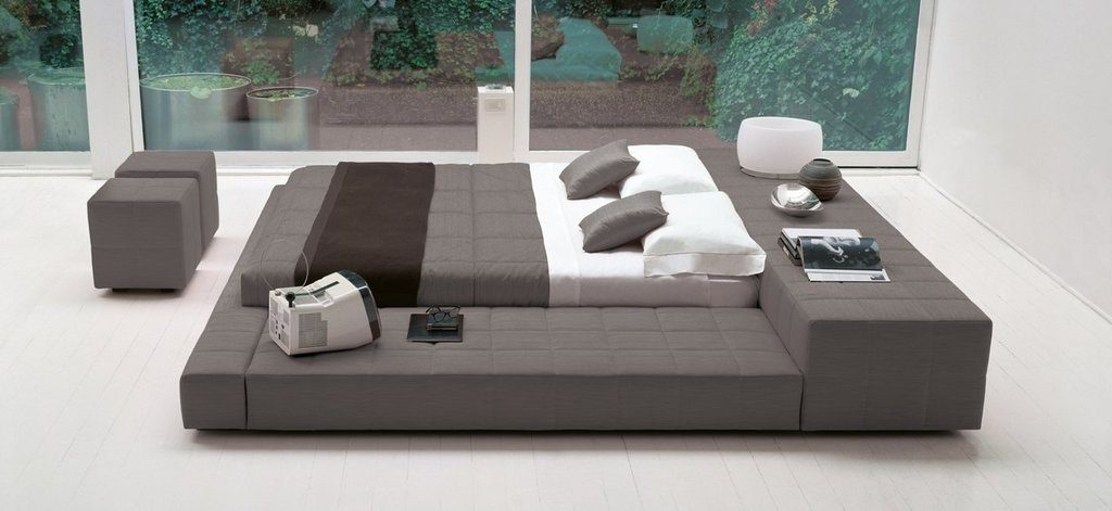 """Кровати: Кровать двуспальная """"Гриса"""" в Амадео"""