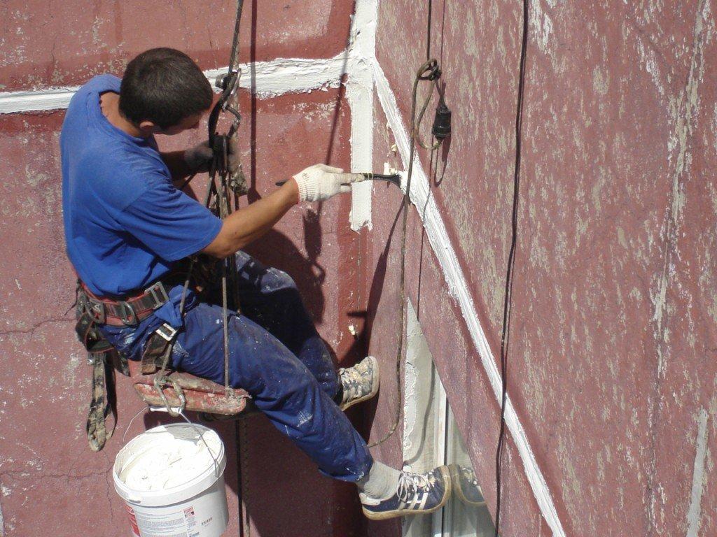 Фасадные работы: Ремонт межпанельных швов в FloMASTER, ООО