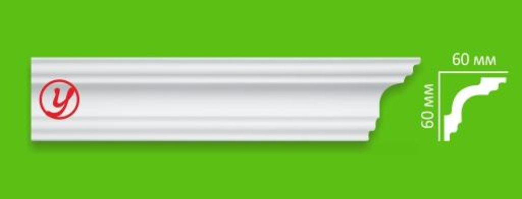 Плинтуса потолочные: Плинтус потолочный Decoline I2 в Мир Потолков