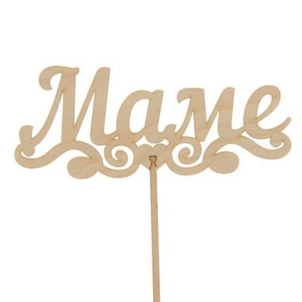 Украшения, декор: Топпер «Маме» в ТортExpress
