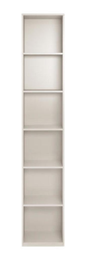 Шкафы, общие: Шкаф-пенал со стеклом 17 Виктория левый в Стильная мебель