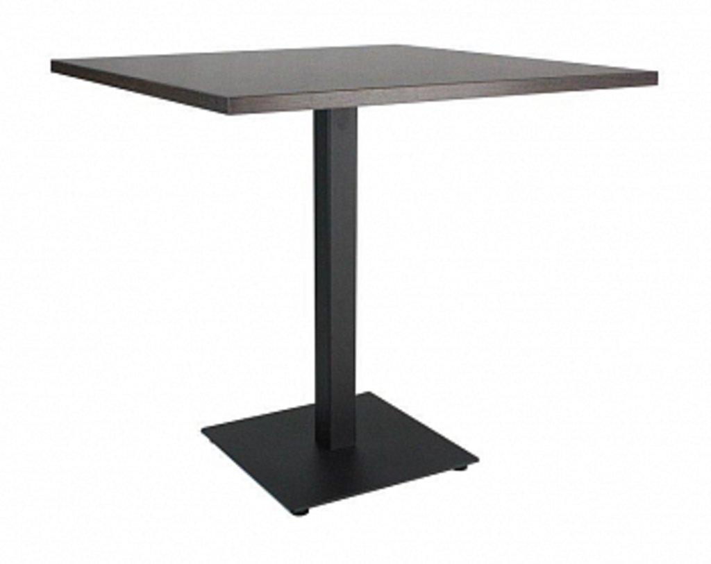 Столы для ресторана, бара, кафе, столовых.: Стол квадрат 78х78, подстолья 01 С-100 чёрная в АРТ-МЕБЕЛЬ НН