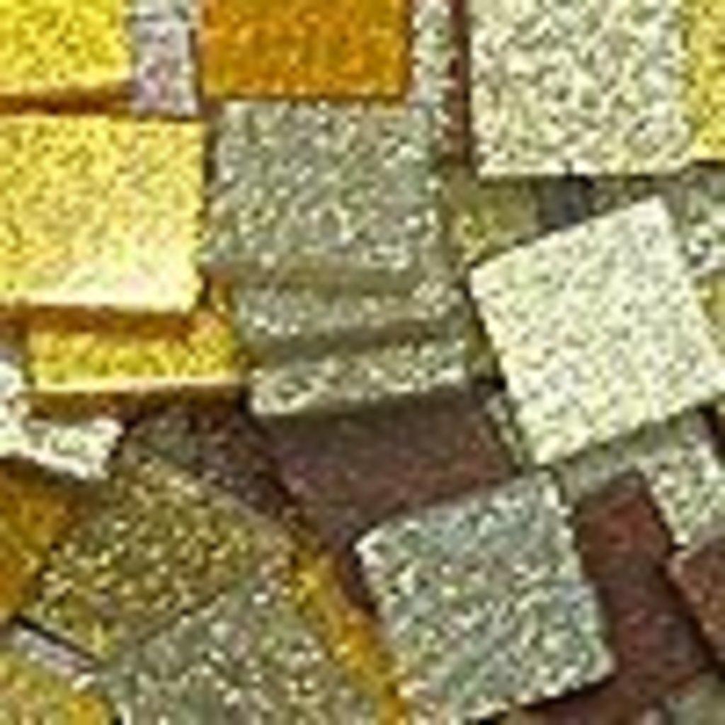 """Мозаика: FOLIA Мозаика """"Тонированная с блестками."""",10х10 мм,190 шт.,оттенки коричневого в Шедевр, художественный салон"""