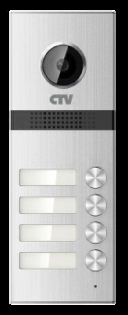 Вызывные панели: Вызывная панель для видеодомофонов на 4 абонента CTV-D4Multi в Микровидео