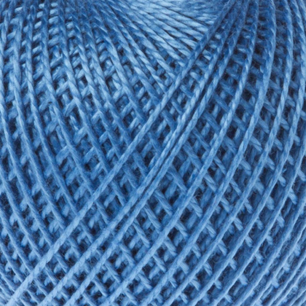 Ирис 25гр.: Нитки Ирис 25гр.150м.(100%хлопок)цвет 2608 голубой в Редиант-НК