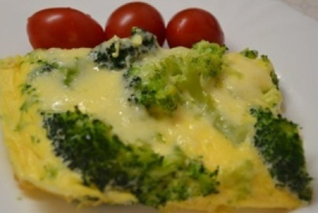 Диетическое меню: Омлет с брокколи 300гр в Смак-нк.рф