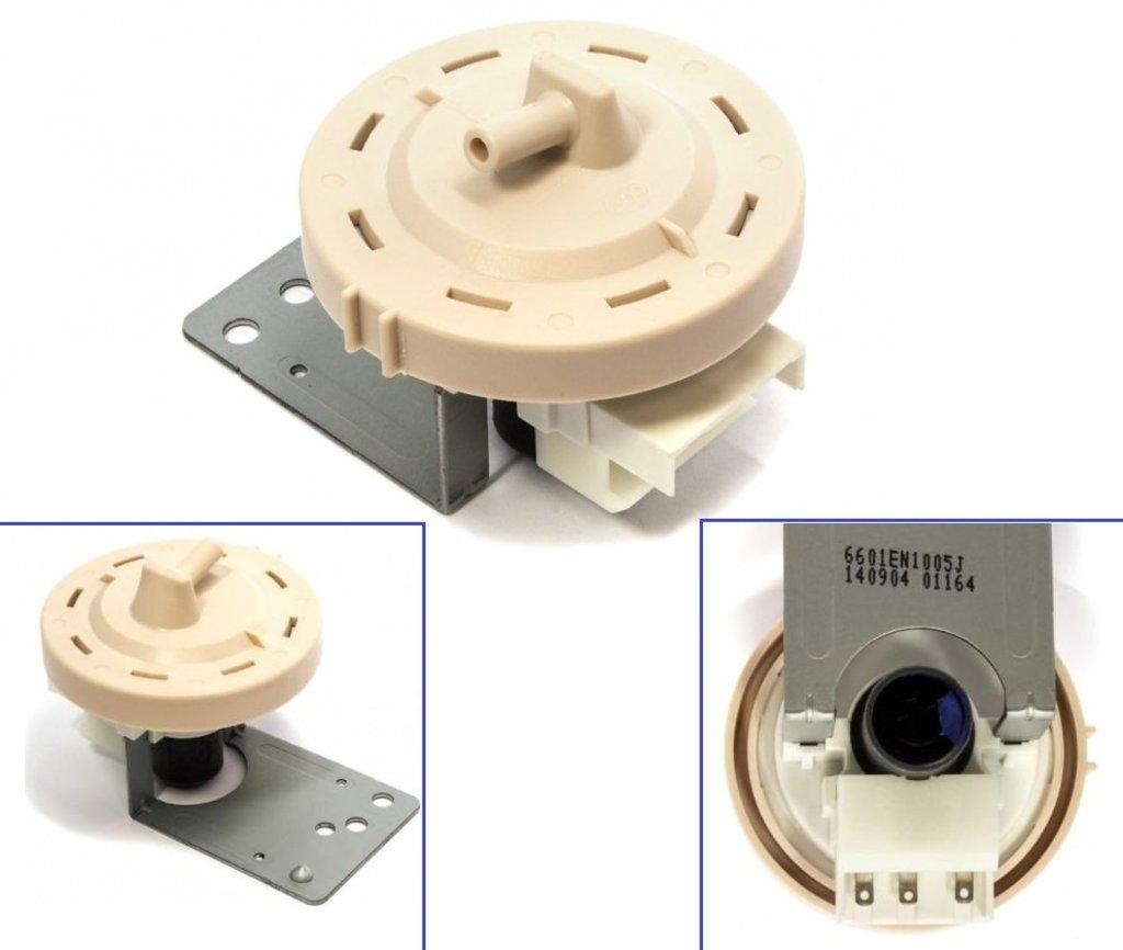 Датчики/выключатели/переключатели: Прессостат (датчик уровня воды) аналоговый для стиральных машин LG 6601EN1005A, 6601EN1005J, 6601EN1006E в АНС ПРОЕКТ, ООО, Сервисный центр