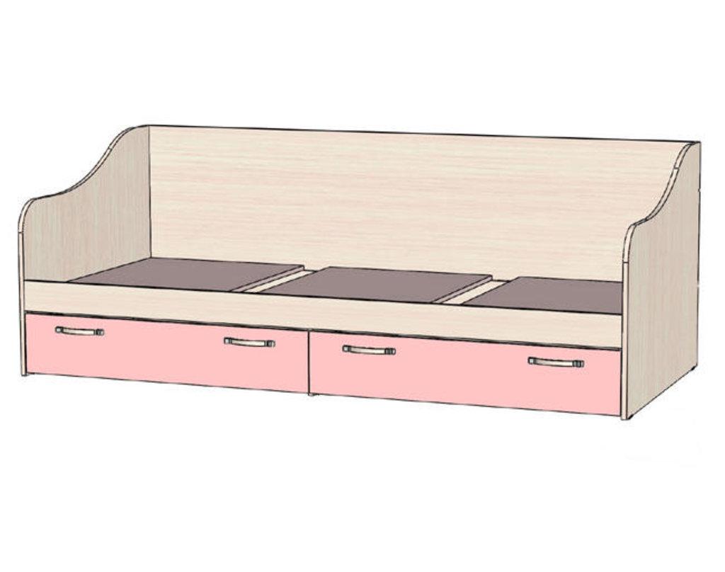 Мебель для детской Буратино. Модульная серия.: Кровать с ящиками Буратино в Уютный дом