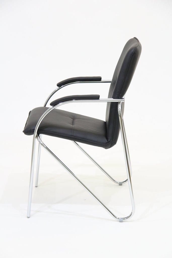 Офисные стулья: Кресло Самба (хром) в АРТ-МЕБЕЛЬ НН