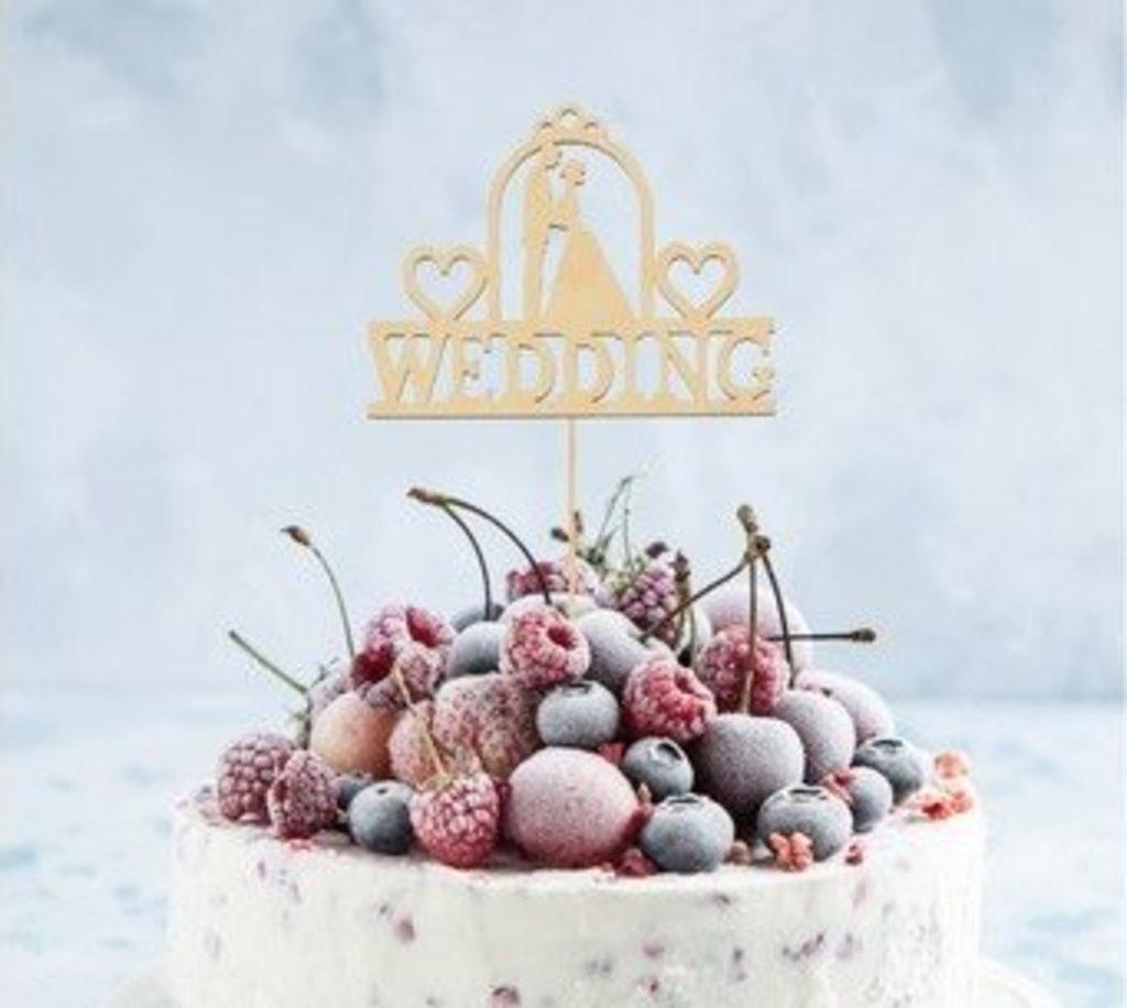 Украшения, декор: Топпер Wedding в ТортExpress
