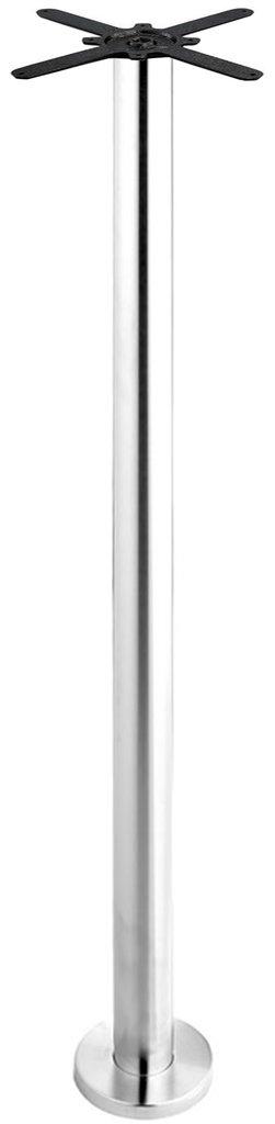 Подстолья для столов.: Подстолье барное крепление к полу 1272EM (нержавеющая сталь матовое) в АРТ-МЕБЕЛЬ НН